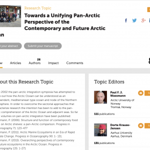 Towards a Unifying Pan-Arctic Perspective of the Contemporary and Future Arctic Ocean
