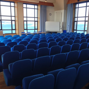Conference room, Station Biologique de Roscoff (CNRS), France